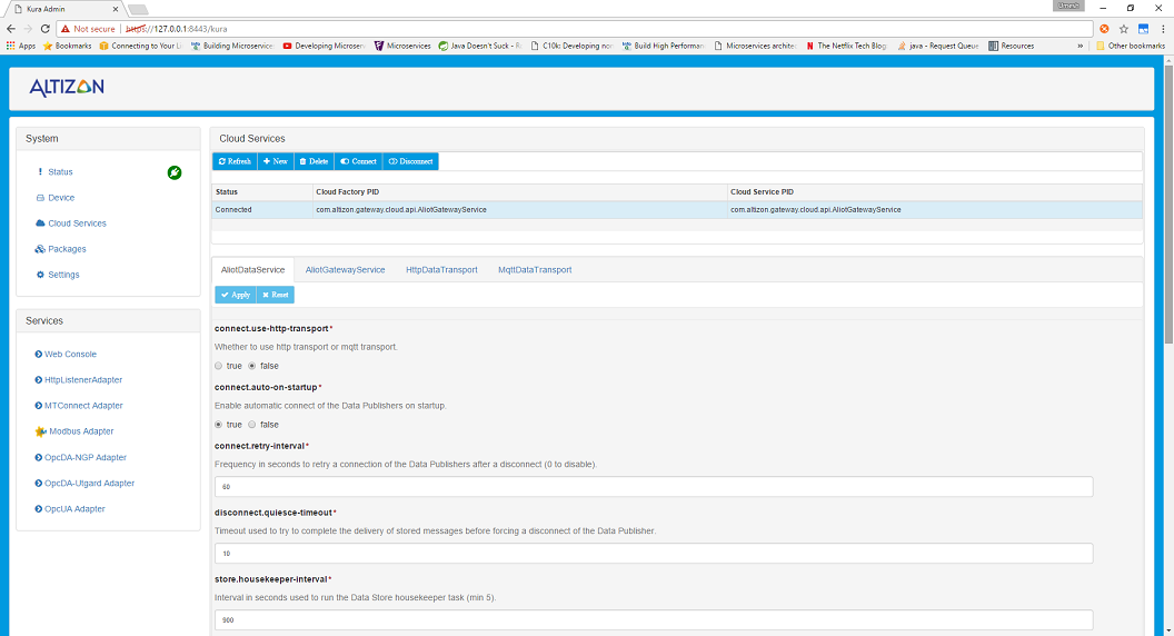 Datonis:Edge Gateway Installation and Basic Configuration - Datonis